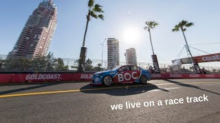 LIVING ON A RACE TRACK | GC600 V8 Supercars