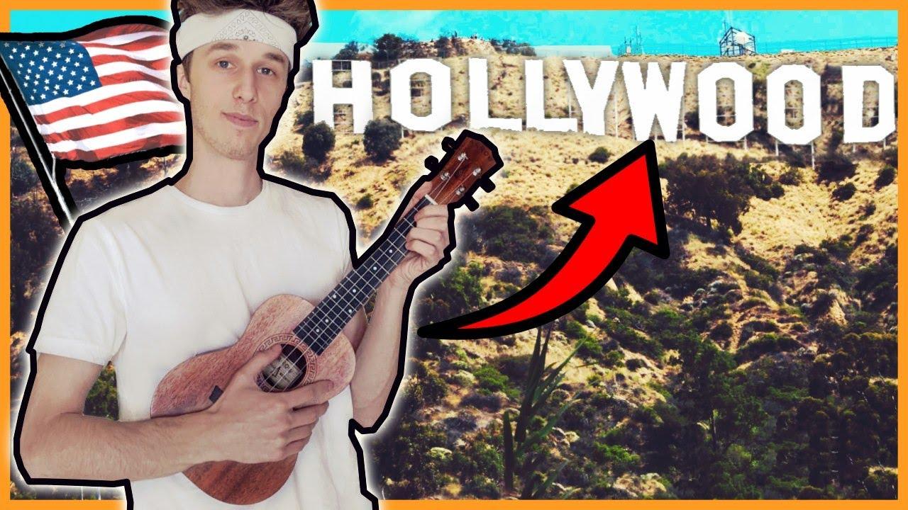 Pojechałem do Californii nagrać teledysk! White2115 - California ukulele cover