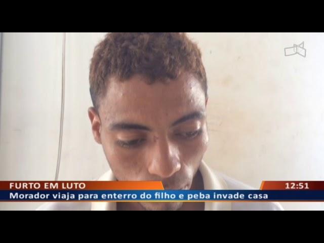 DF ALERTA - Morador tem casa invadida ao viajar para enterrar o filho