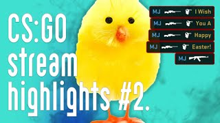 CS:GO Stream Highlights and Funny Moments #2 (2019) - Happy Easter!