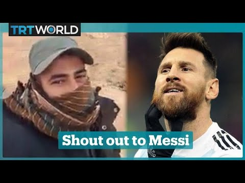 Palestinian footballer calls on Argentina footballers to boy