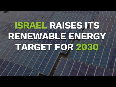 Israel's 2030 Energy Plan