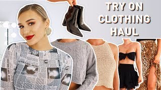 TRY ON CLOTHING HAUL   Princess Polly