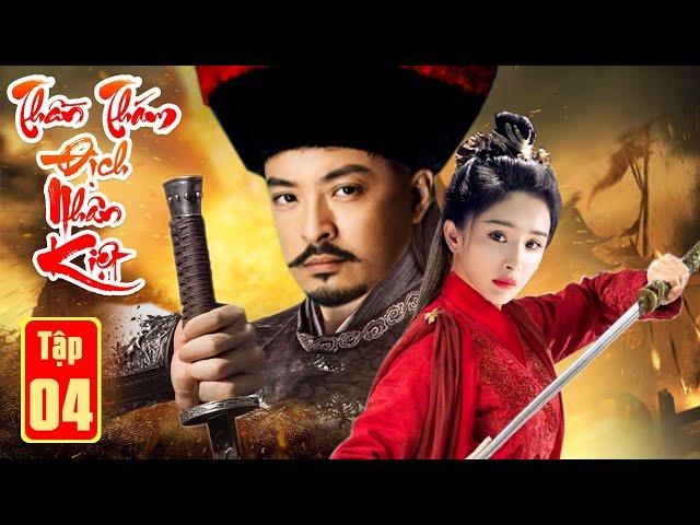 Phim Bộ Hay Nhất 2021  THẦN THÁM ĐỊCH NHÂN KIỆT PHẦN CUỐI - Tập 4   Kiếm Hiệp, Phá Án