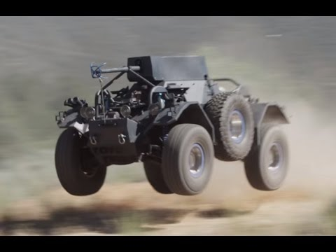 Armored Scout Car - British Ferret : Offroad Expo 2016