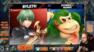 DKwill (DK) vs T1 MKLeo (Byleth) - Frame Perfect Series Online