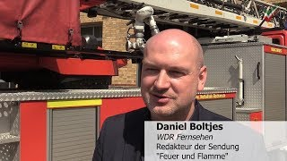 Fire & Flame -Staffel 3 is shot in Bochum Press appointment on the fire & rescue station in Bochum