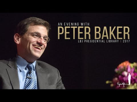 An Evening With Peter Baker
