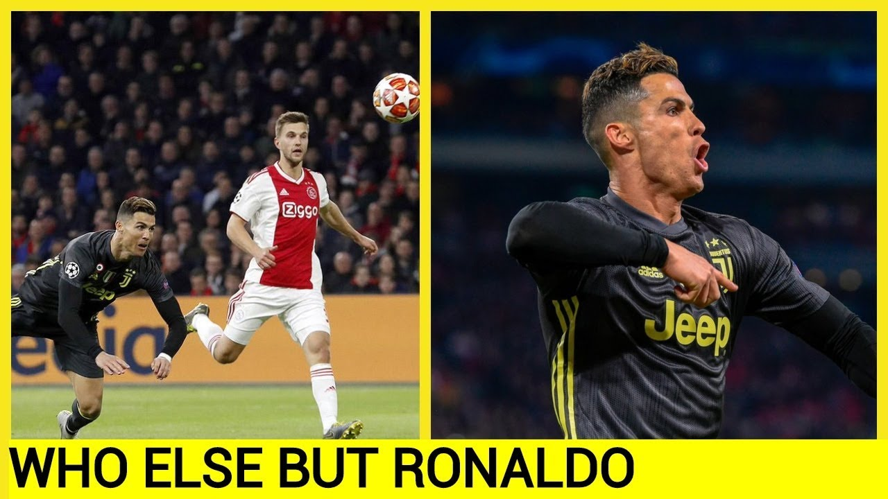Ronaldo scores 125th Champions League goal but Juventus held by Ajax
