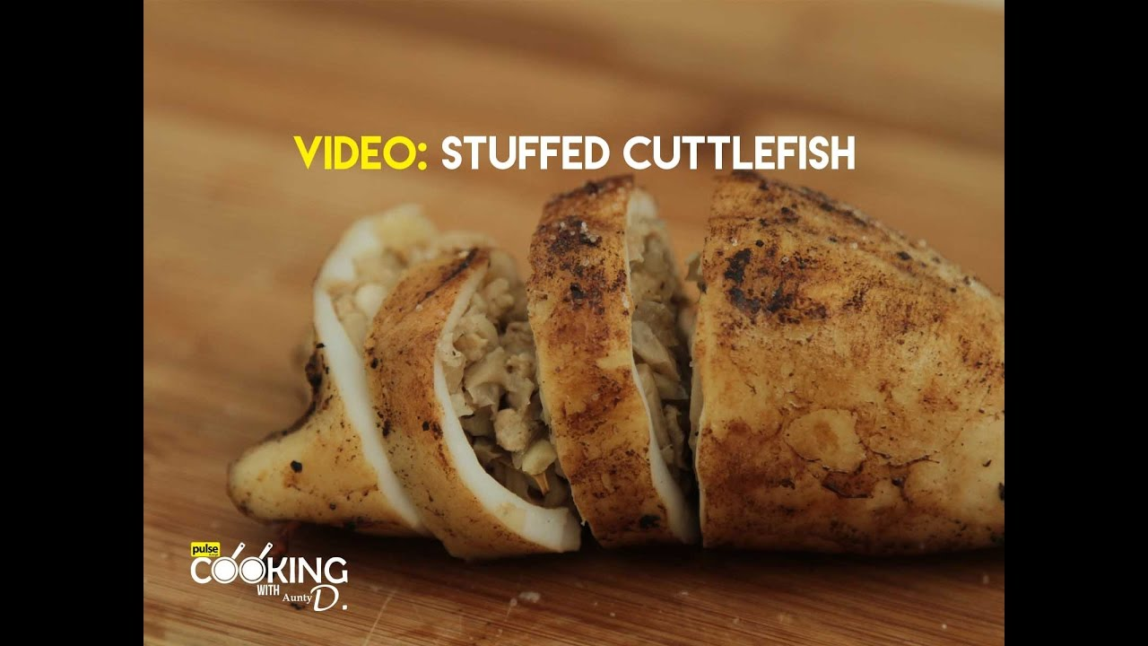 Stuffed Cuttlefish Recipe