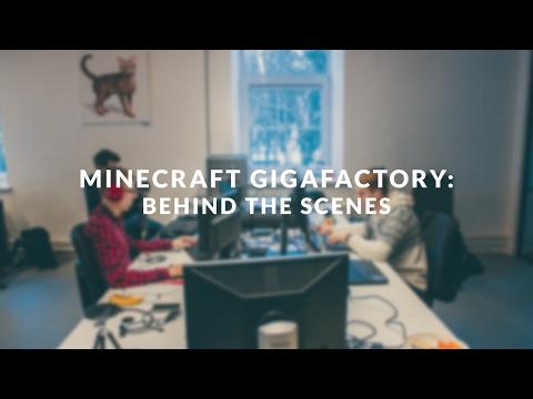 Minecraft Tesla Gigafactory - behind the scenes