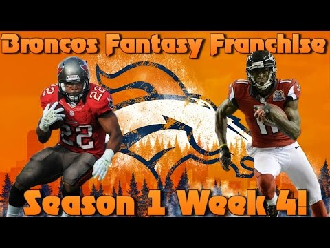 Madden 17 Denver Broncos Fantasy Franchise | Season 1 Week 4!