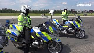 Kolama dolů aneb motorkáři s Policií ČR