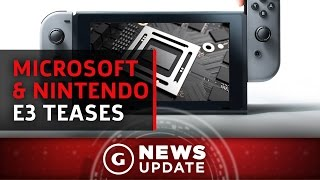 Microsoft And Nintendo Tease E3 Plans - GS News Update