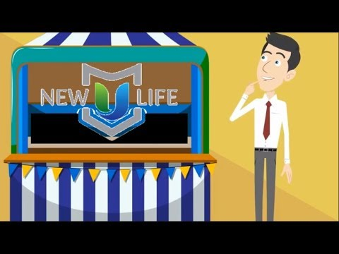 New U LIfe's InfoZone for Trade Shows