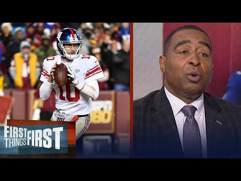 Nick and Cris react to the New York Giants benching Eli Manning | FIRST THINGS FIRST