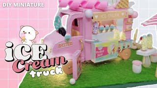 ICE Cream Truck || How to build DIY miniature kit || House of Celestiel