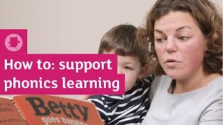 How to support phonics learning at home   Oxford Owl