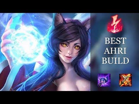 Best Ahri Build Back To Burst Build Ahri Ranked Gameplay Youtube