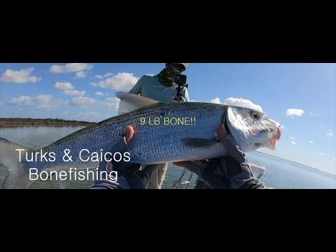 9 Pound Bonefish On The Fly In Turks & Caicos!  Tips & Tricks