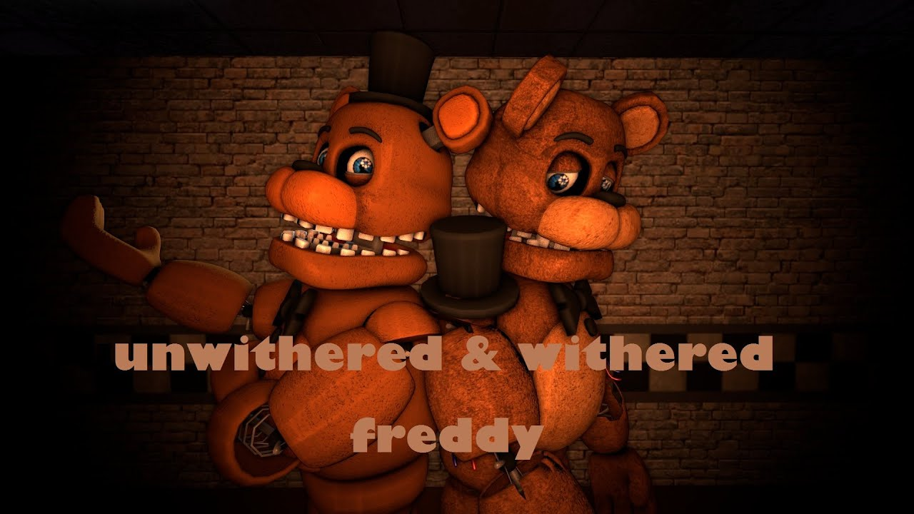 Msf Unwithered Freddy  Unwithered Freddy - FNaF1-Like by