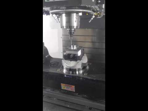 TCPC on a Haas Vf4 with TR210 Fifth axis and the next gen control.
