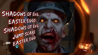 SHADOWS OF EVIL Easter Eggs: Shadows of Evil Jump Scare Easter Egg