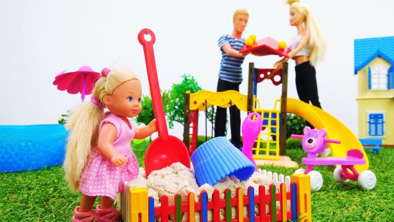 Как сделать детскую площадку? Игры для детей