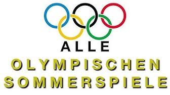 Alle olympischen Sommerspiele