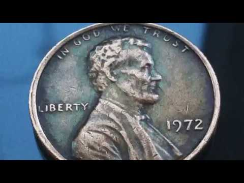 8200$$$ Price Rare and Error 1972 Lincoln Penny US Coins One Cent  Numismatics
