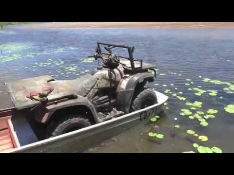 ATV River Hopping