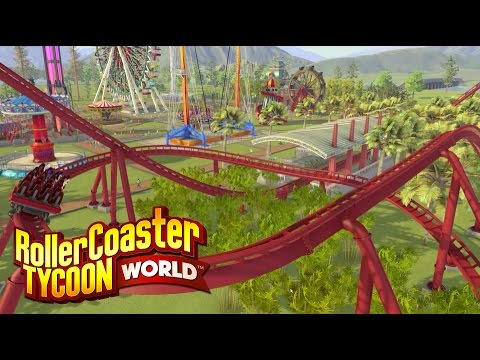 RollerCoaster Tycoon World download torrent for PC