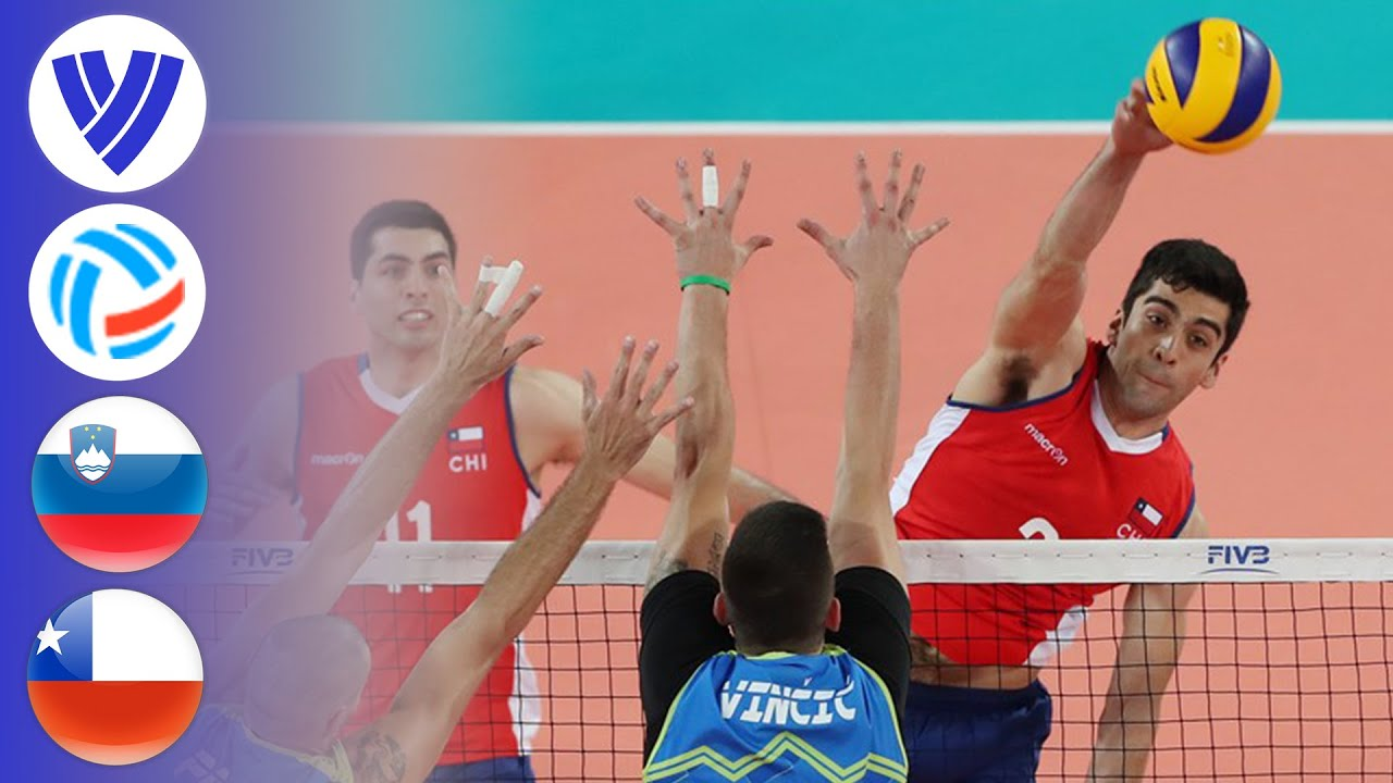 Slovenia vs. Chile - Full Match | Men's Volleyball Challenger Cup 2019