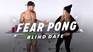 Blind Dates Play Fear Pong (Aaron vs. Alyssa)
