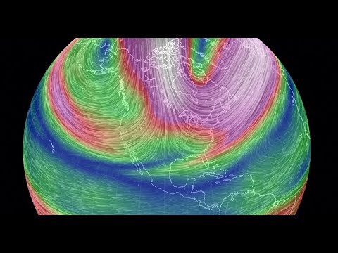 Cold News   February Forecast & Windmaps