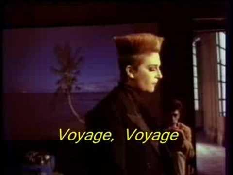 musica desireless - voyage voyage