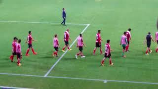 北海道コンサドーレ札幌vs鹿島アントラーズ(2017.10.29)試合後ゴール裏