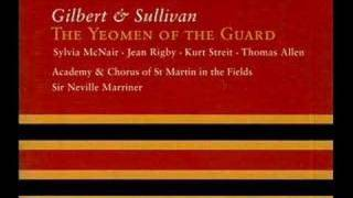 Gilbert & Sullivan - Yeomen of the Guard