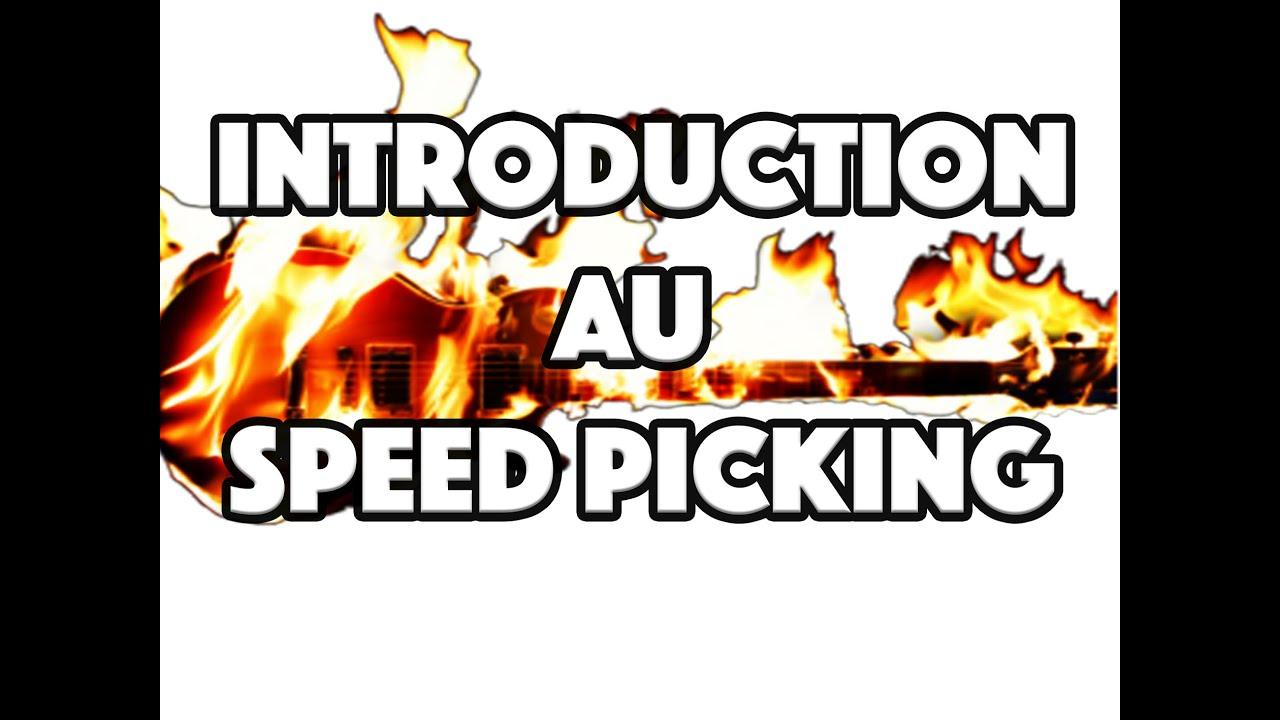 INTRODUCTION AU SPEED PICKING - LE GUITAR VLOG 072
