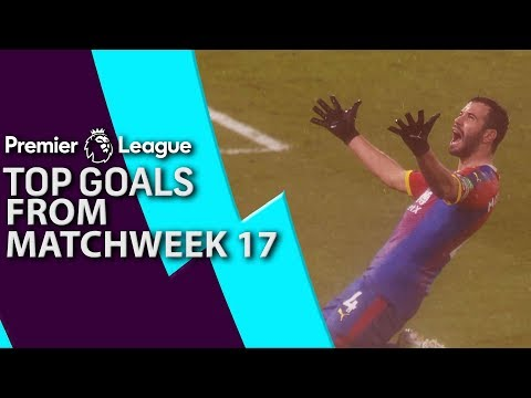Top goals from Premier League Matchday 17 | NBC Sports