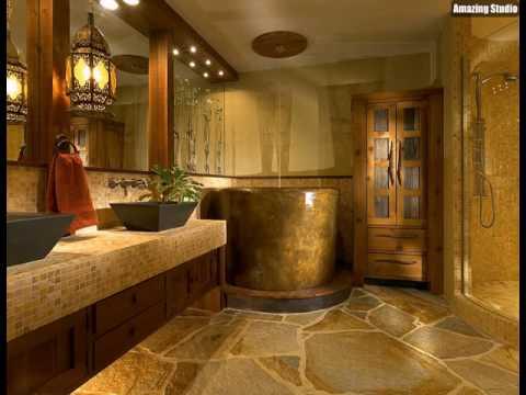 Zen wie luxus bad mit japanische badewanne youtube - Japanisches badezimmer ...