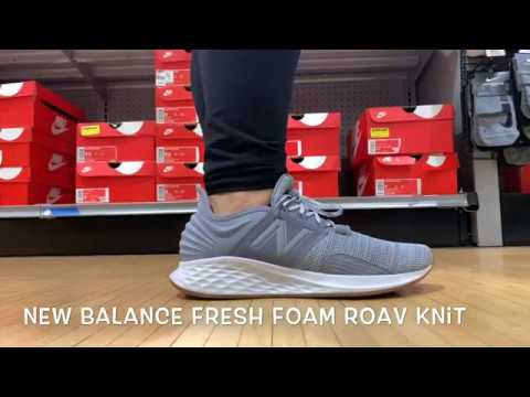 The New Balance Fresh Foam Roav's is such a CLEAN SNEAKER 🧼