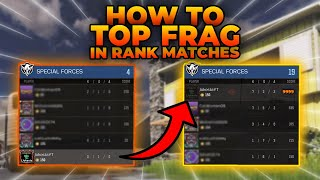 How To Top Frag Rank Matches in Cod Mobile! Tips and Tricks!