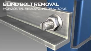 Blind Bolt Horizontal Installation