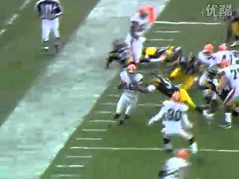 [NFL moments] Browns Josh Cribbs access the kickoff 100 yards for a touchdown (shock) back to attack