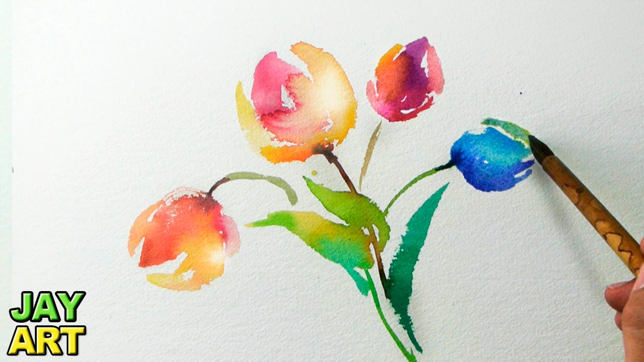 Image gallery easy watercolor for How to watercolor for beginners