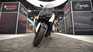 2018 Yamaha XMax 300 - AIMExpo 2017 | 4K