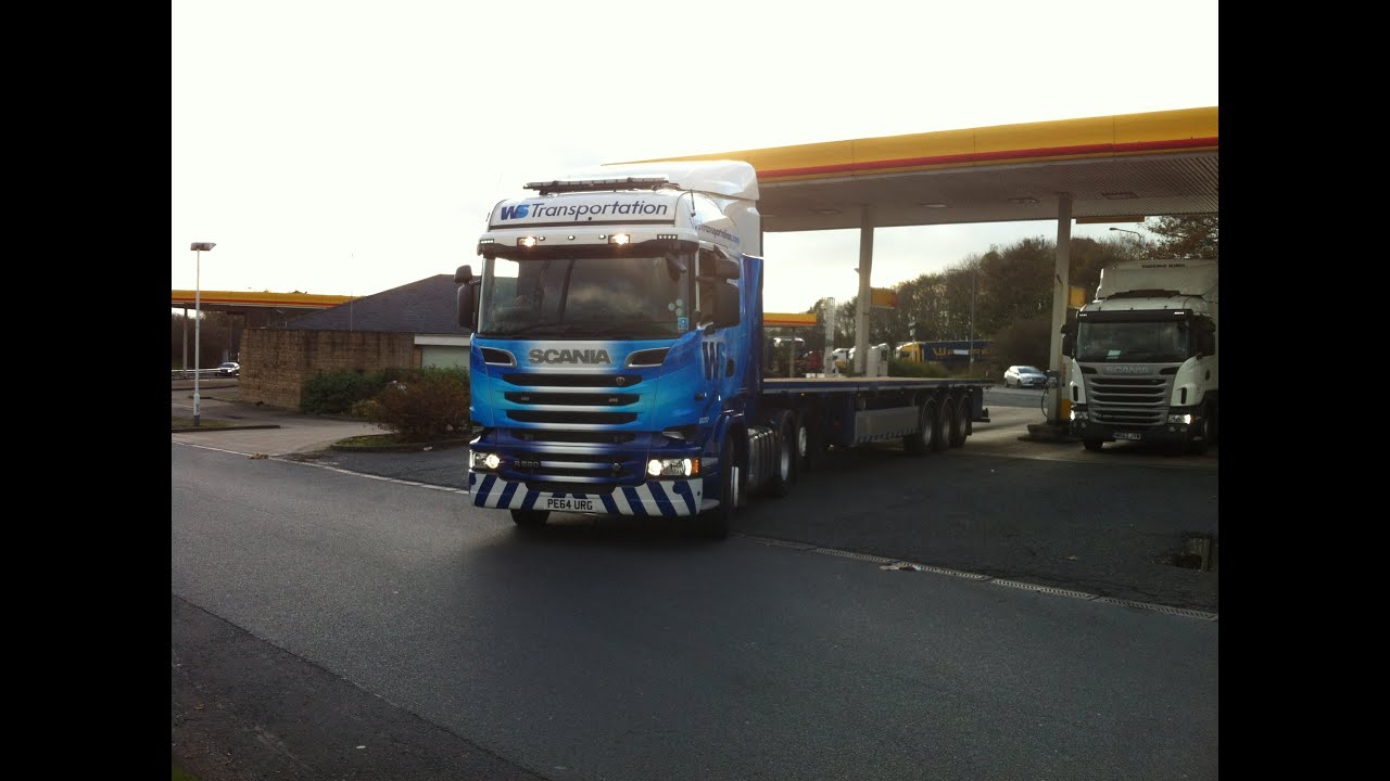 WS Transportation, Scania R520 V8, 6X237 PE64 URG, Willow