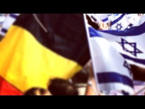 Pro-Israel Rally - Israel Embassy in Belgium - 27.07.2014