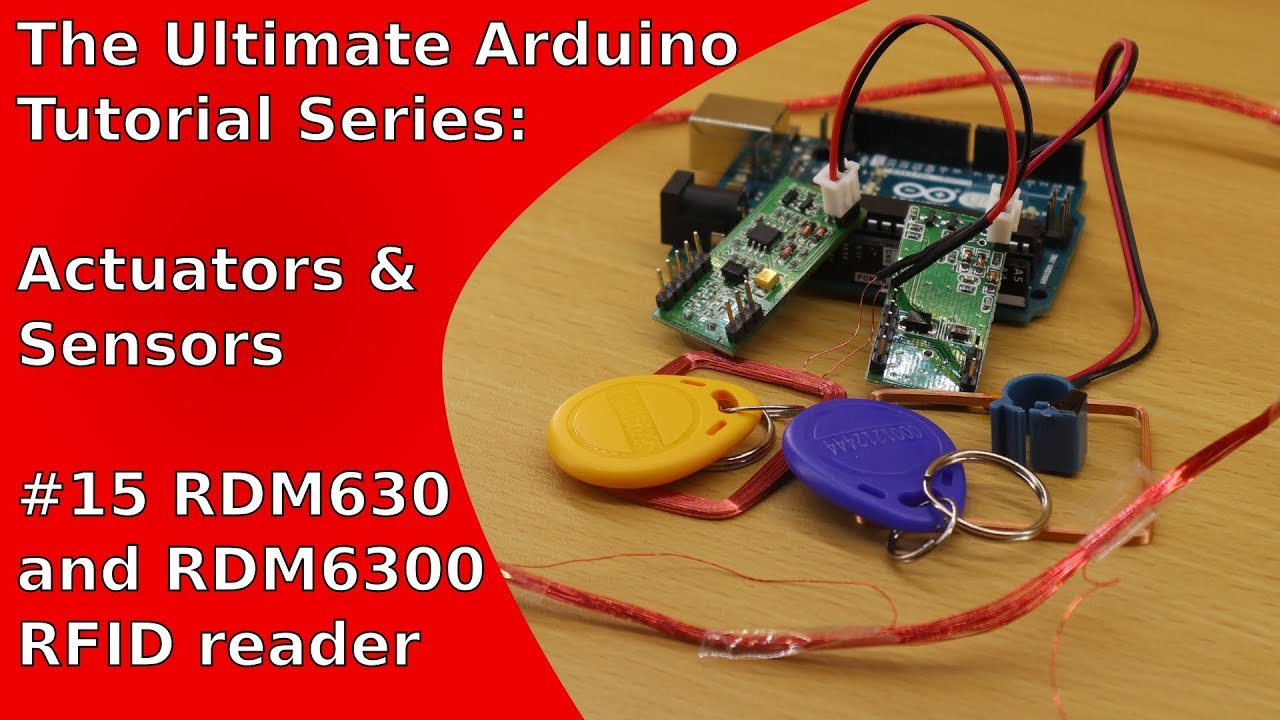 RFID Readers RDM6300 and RDM630 (Arduino-Tutorial) | UATS A&S #15